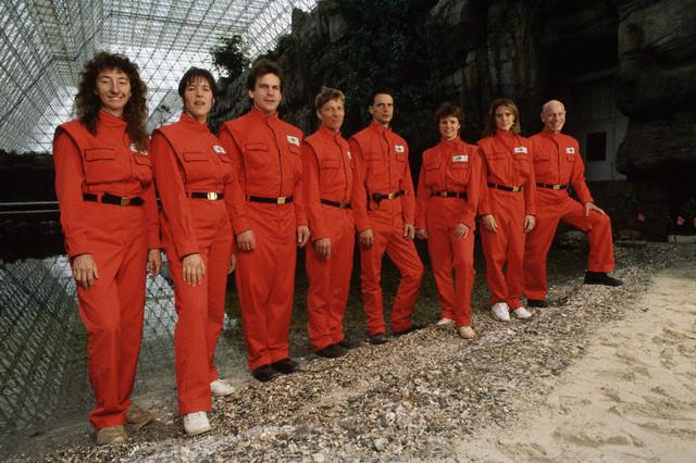 biosphere 2 team