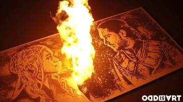 gunpowder art