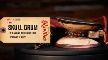 tibetan skull drum