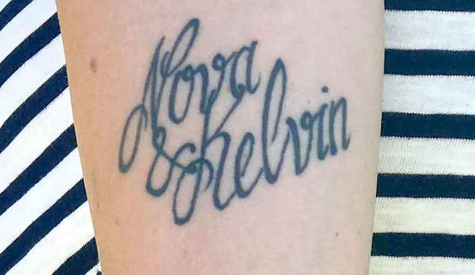 kelvin tattoo