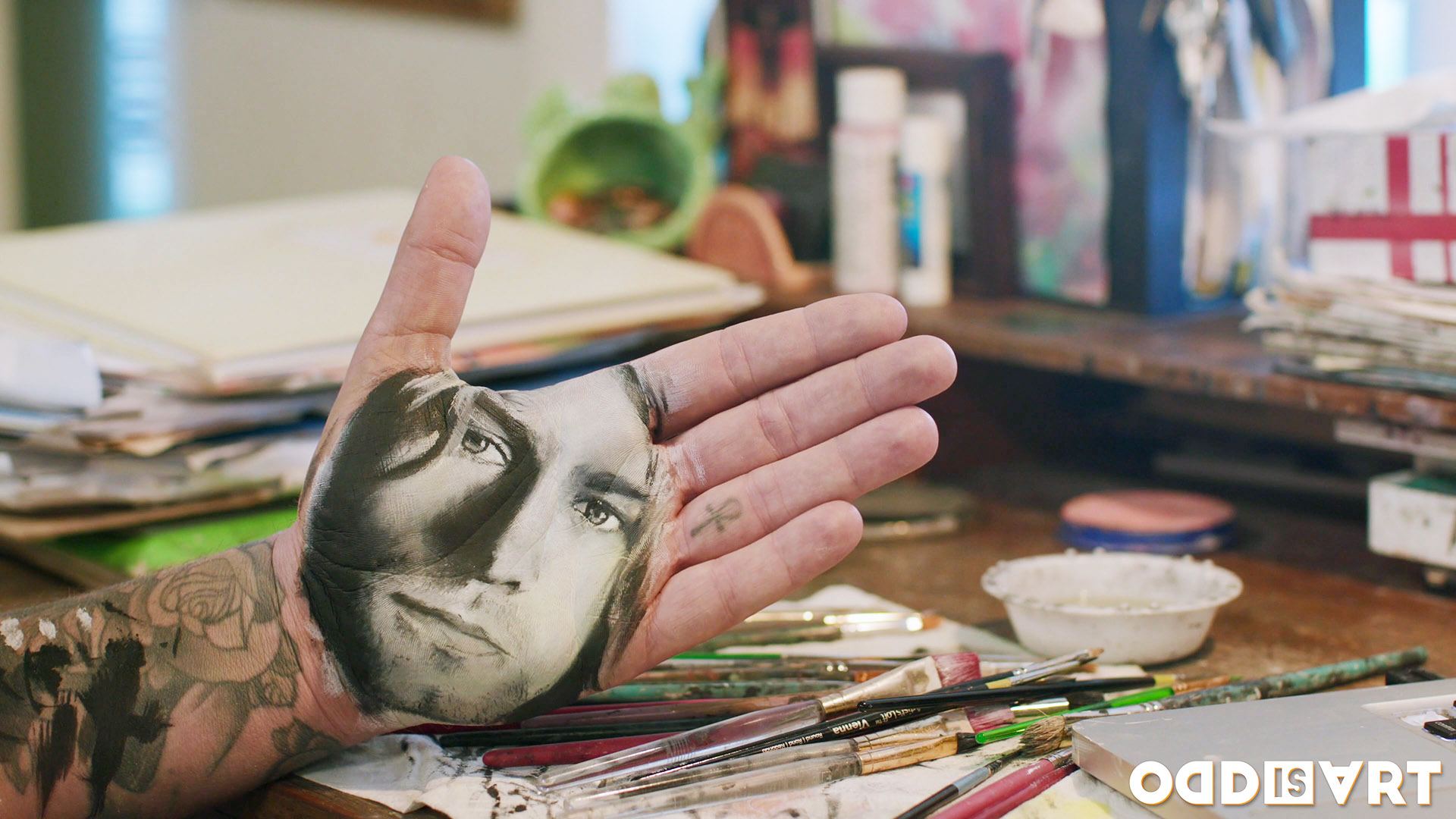 handstamping art