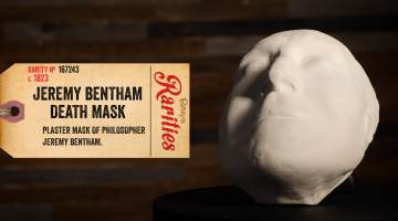 jeremy bentham death mask
