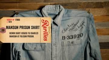 charles manson prison shirt