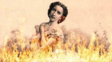 burning ballet dancer