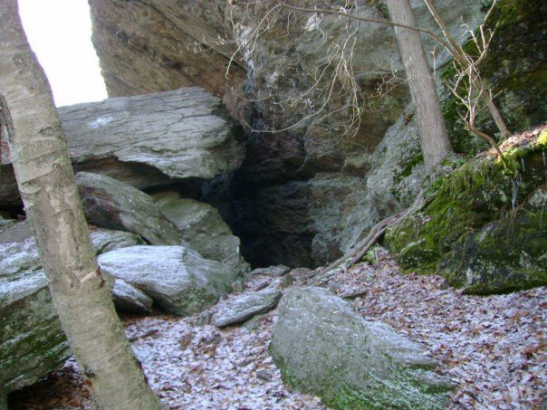 leatherman cave site