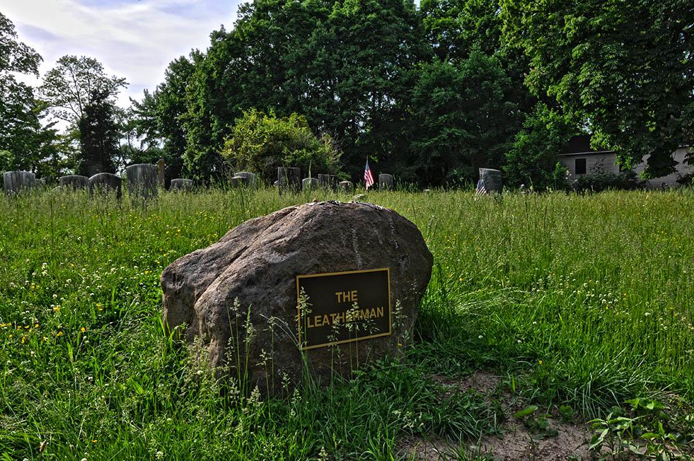 leatherman grave