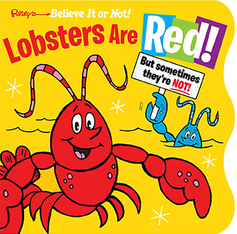 lobsters are red book