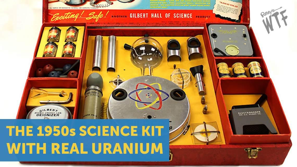 1950s science kit