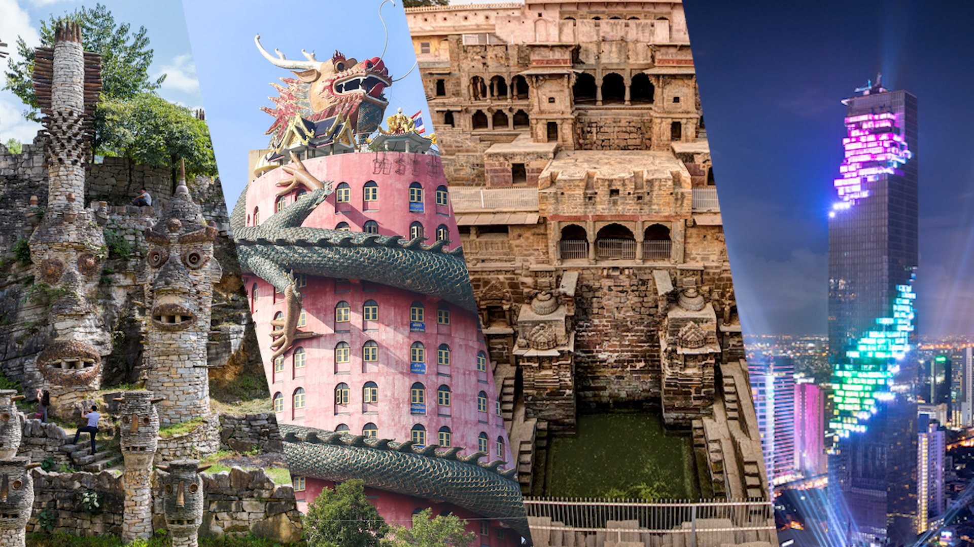 places strangest visit strange travel weird ripley century tower khlong mai beaten temple path dragon