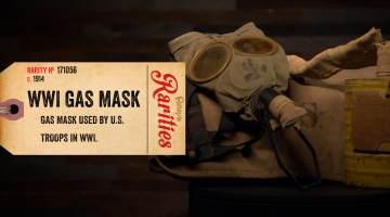 world war i gas mask