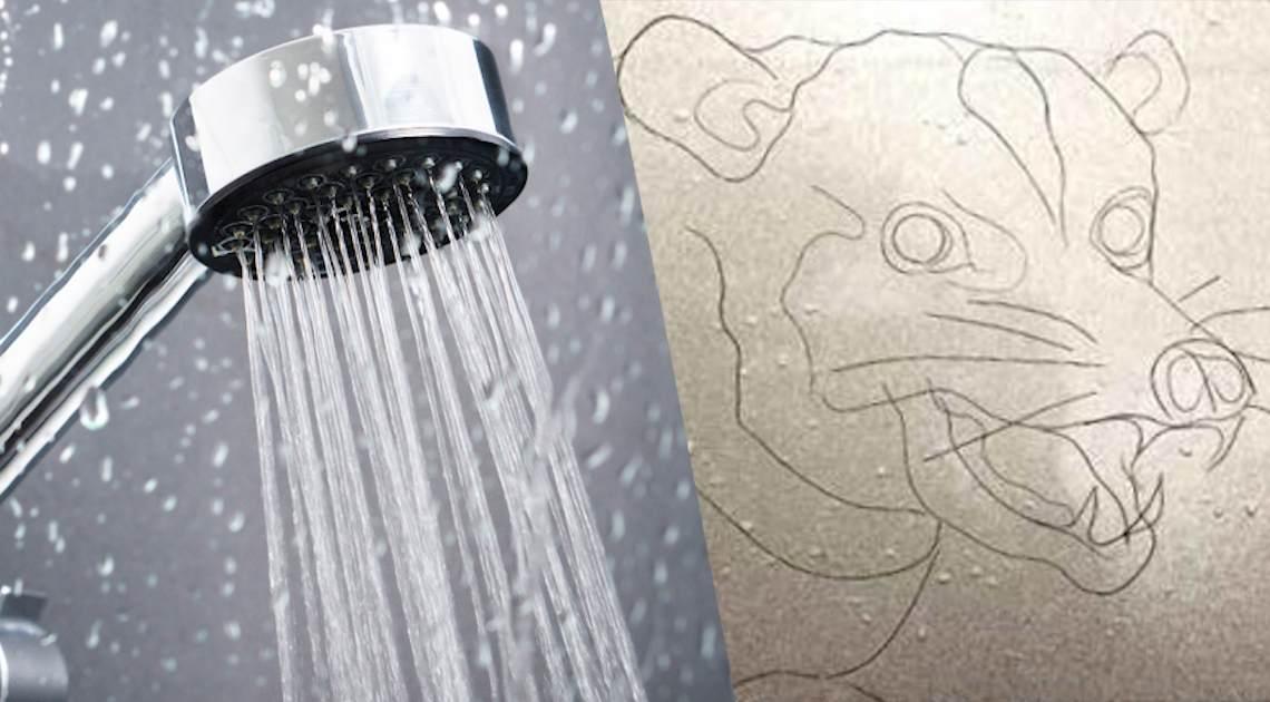 shower strands