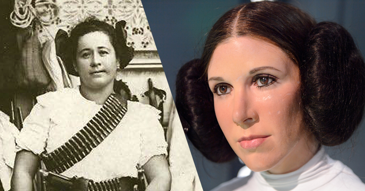 Princess Leia's Hair Was Inspired By Real Mexican Rebels