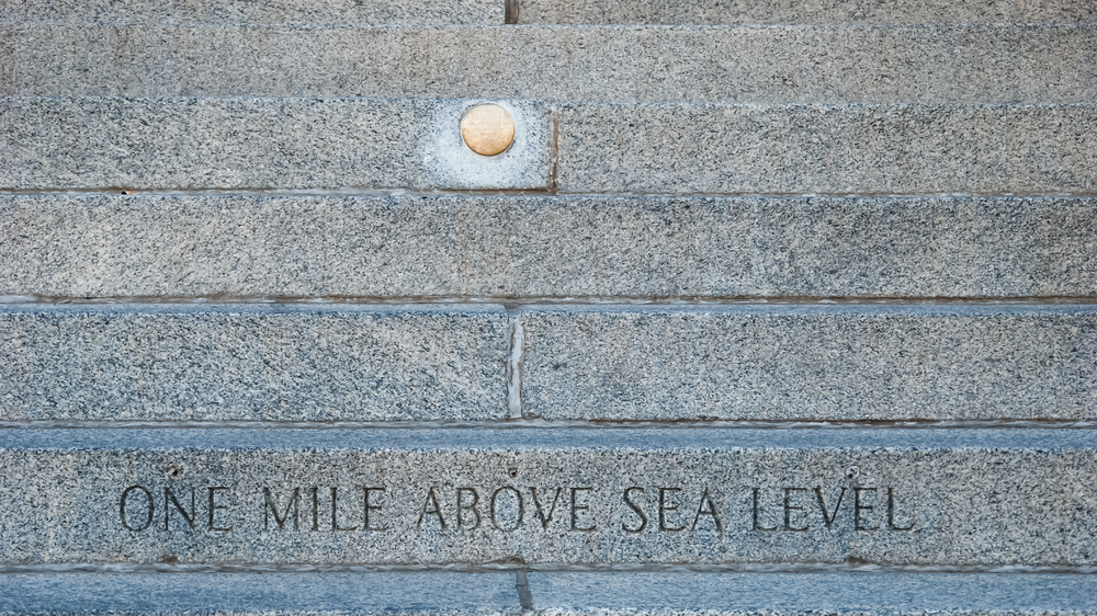 mile-high steps