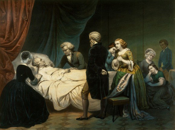 washingtons death