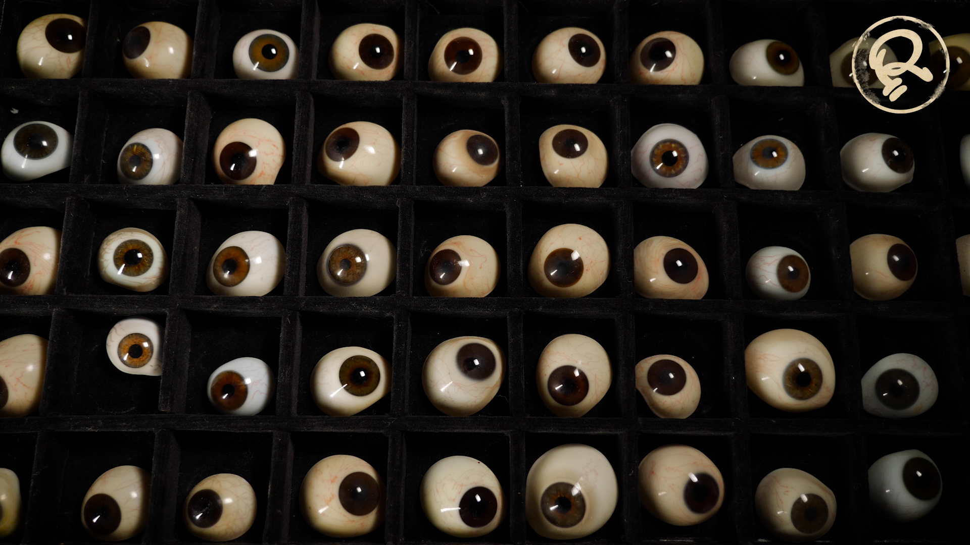 glass eyeball collection