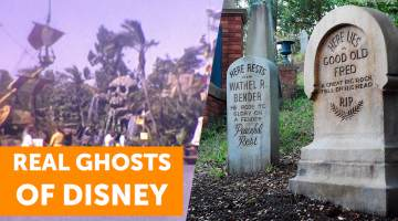 real ghosts of disney