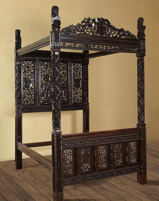 king henry vii's bed