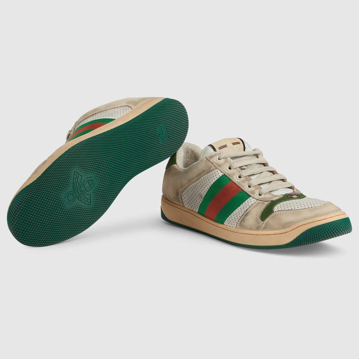 gucci pre-worn shoes