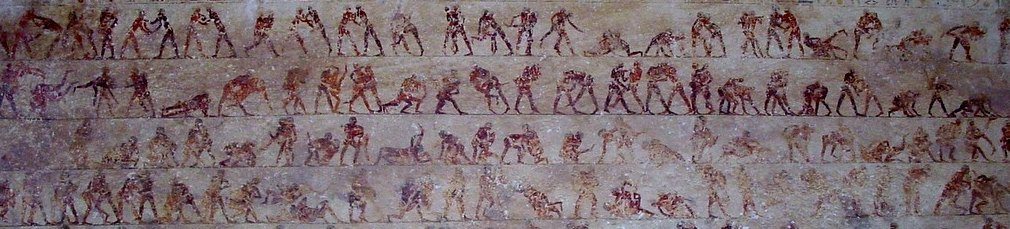 ancient wrestling