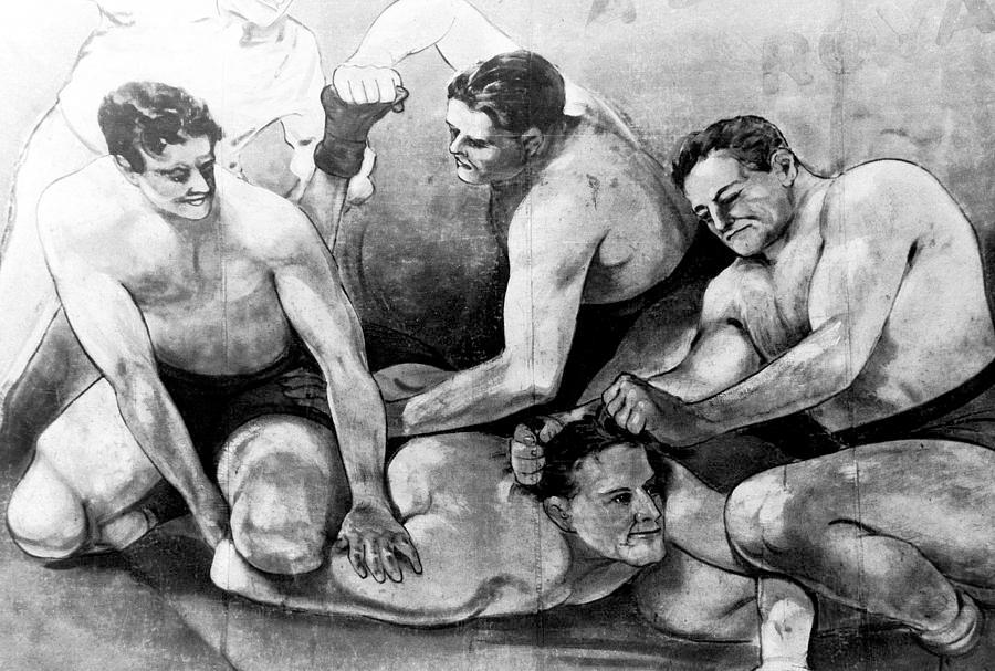 hooker wrestlers