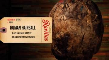 human hairball