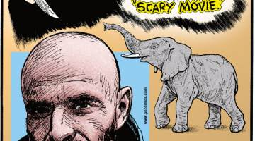 """1. The original title for """"Scream"""" was """"Scary Movie."""" 2. Johnny Cash's """"A Boy Named Sue"""" was penned by children's author Shel Silverstein. 3. Elephants tiptoe!"""