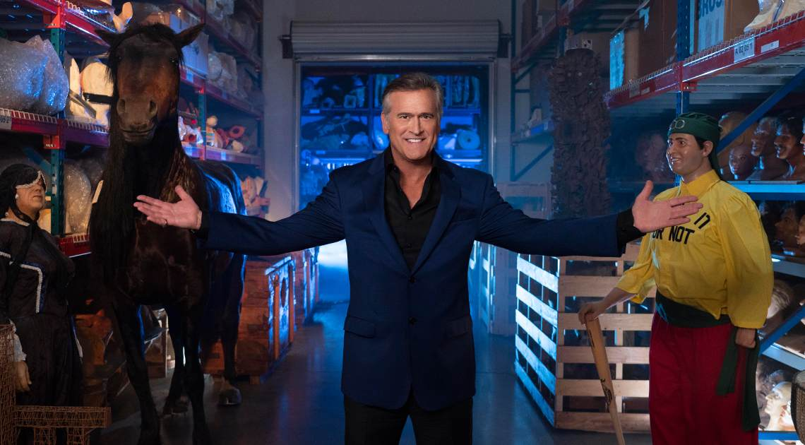 Ripley's Believe It or Not! returns to the Travel Channel with host and executive producer Bruce Campbell! Don't miss the premiere on Sunday, June 9 at 9 p.m. ET/PT.