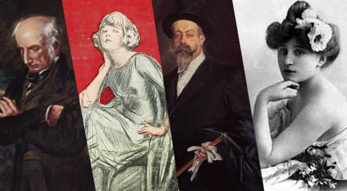 women behind famous male writers
