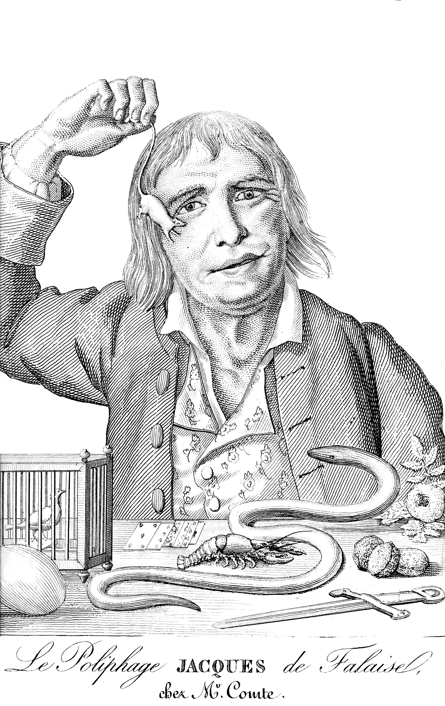 The Medical Mystery Of Tarrare, A Cannibalistic French Spy