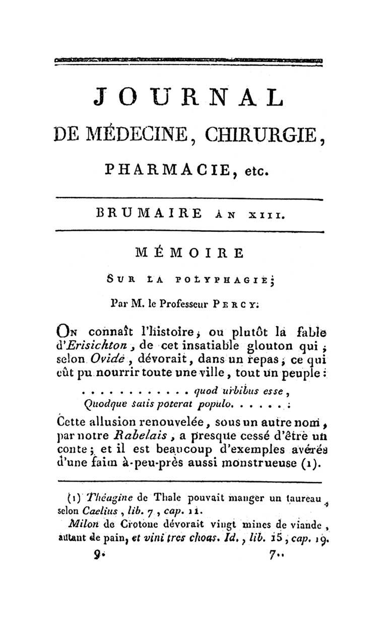 memoir of a polyphage