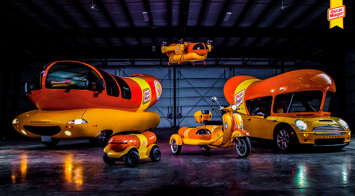 wienermobile fleet