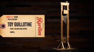 toy guillotine