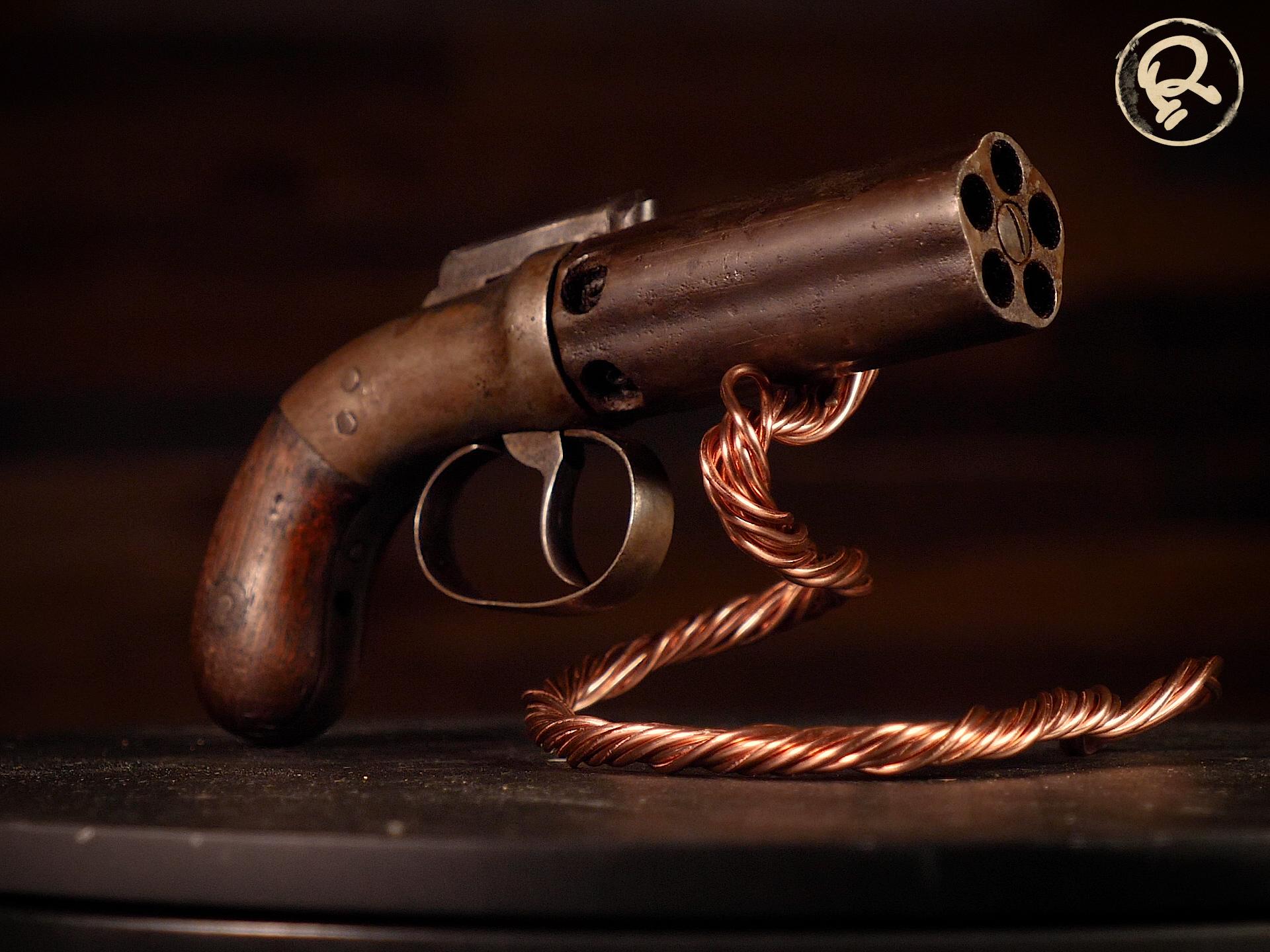 pepper-box pistol