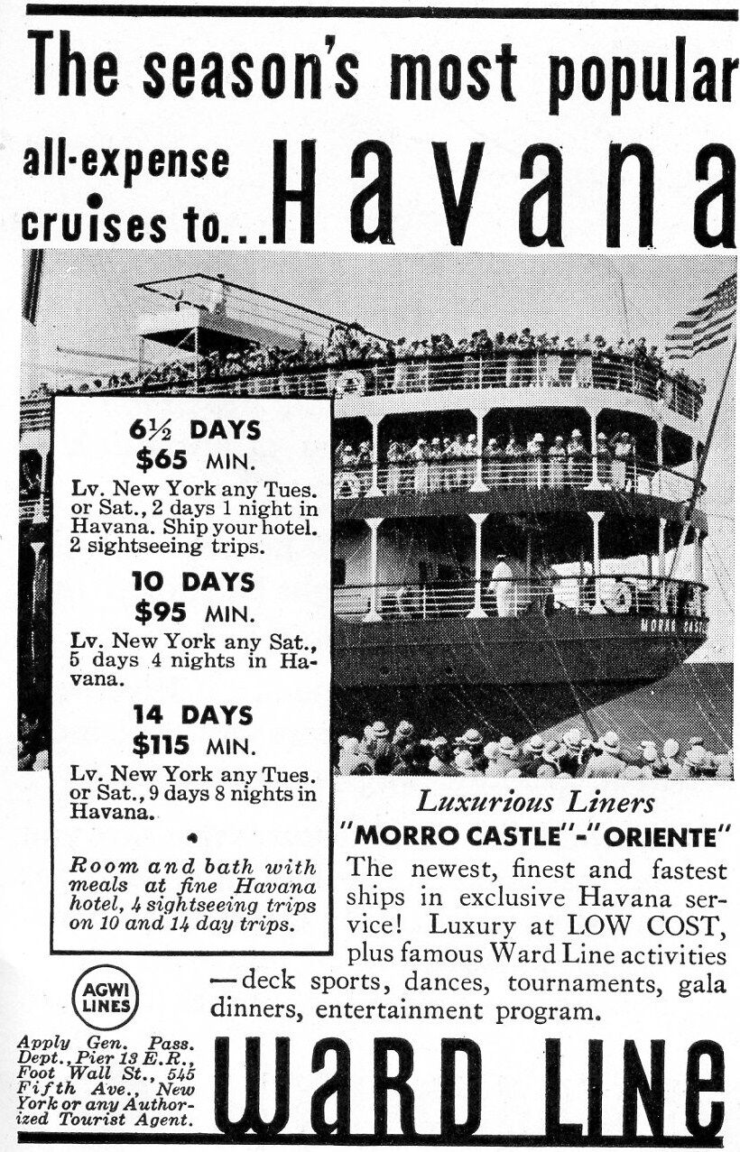 morro castle cruise ad