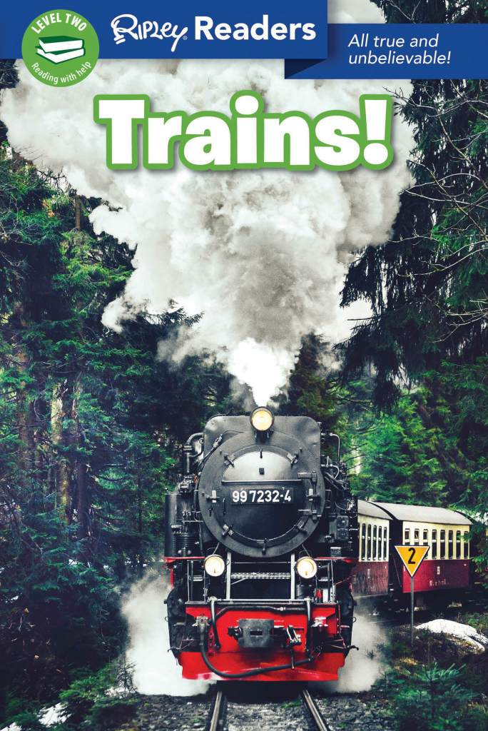 Readers Trains Cover