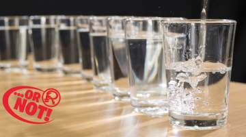 8 glasses of water
