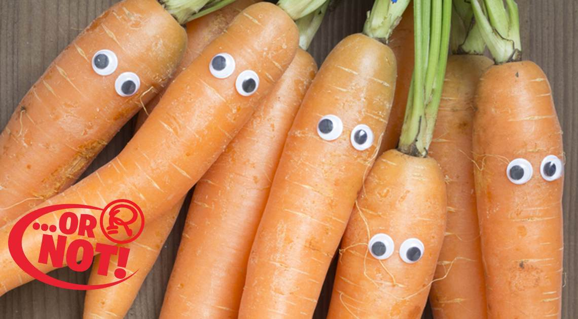 carrots eyesight