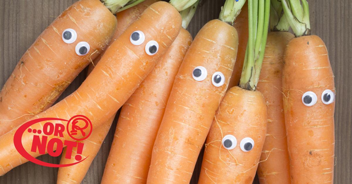 carrots eyesight