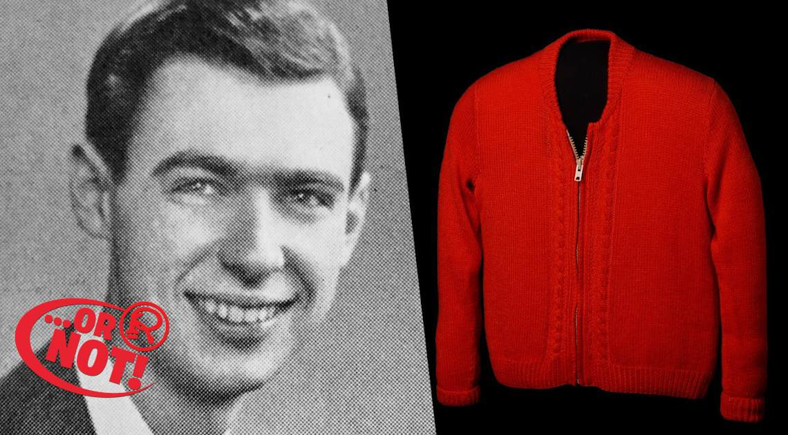 mr. rogers' sweater