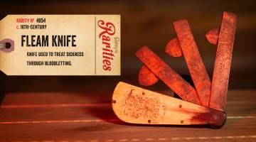 bloodletting knife