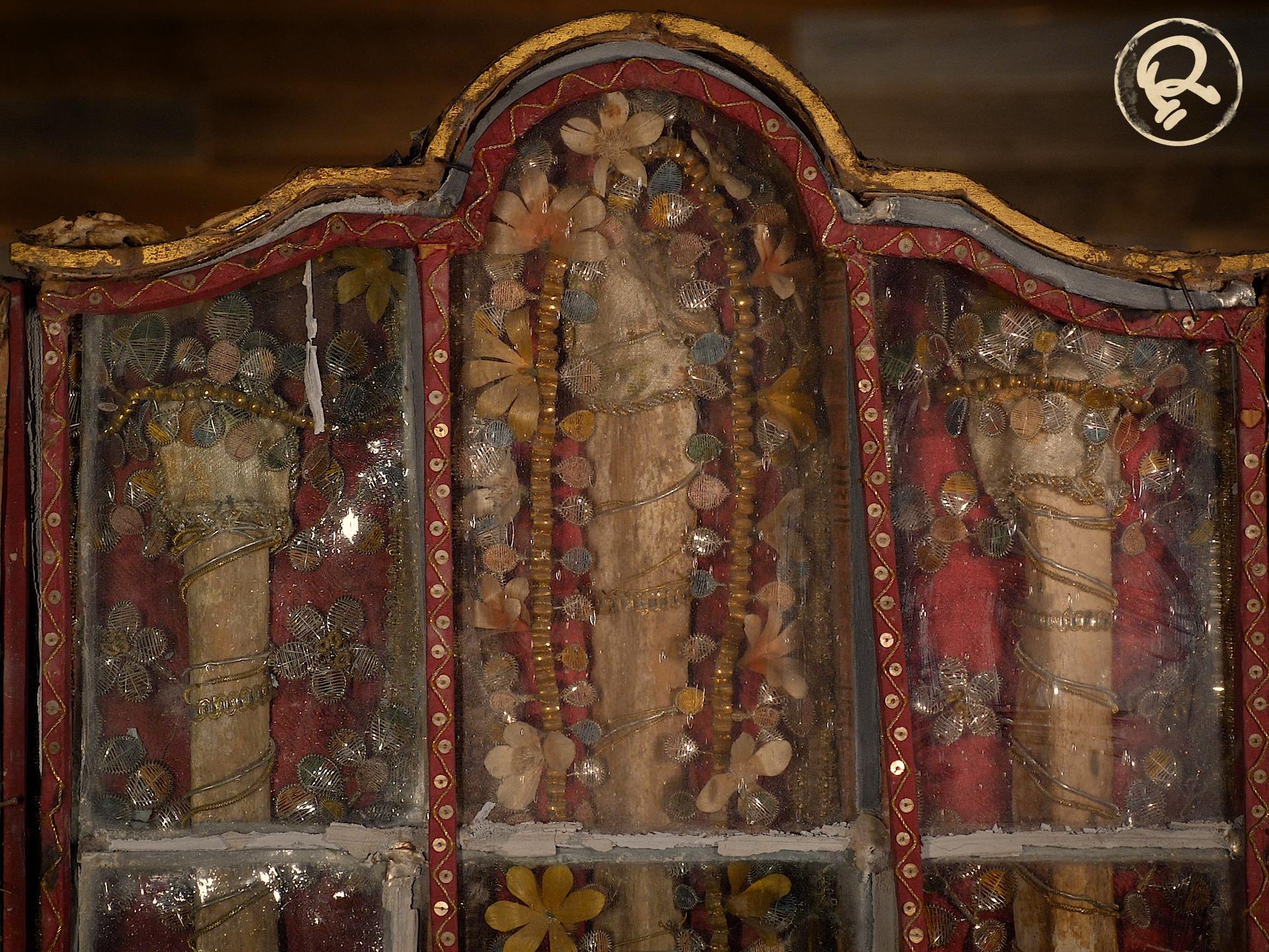 saint bones reliquary