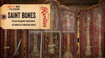 christian saint bones