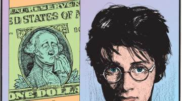 1. A single pencil can draw a line 35 miles long! 2. The flu virus can remain active on a dollar bill for up to two weeks! 3. Harry Potter actor Daniel Radcliffe was allergic to the nickel in his iconic round-frame glasses!