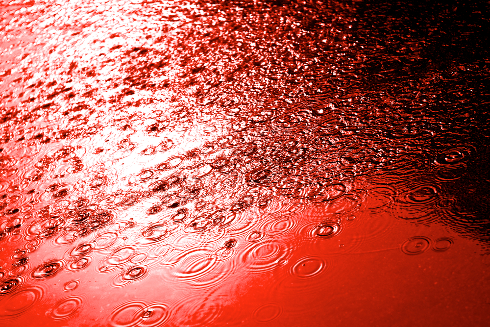 blood floods basement