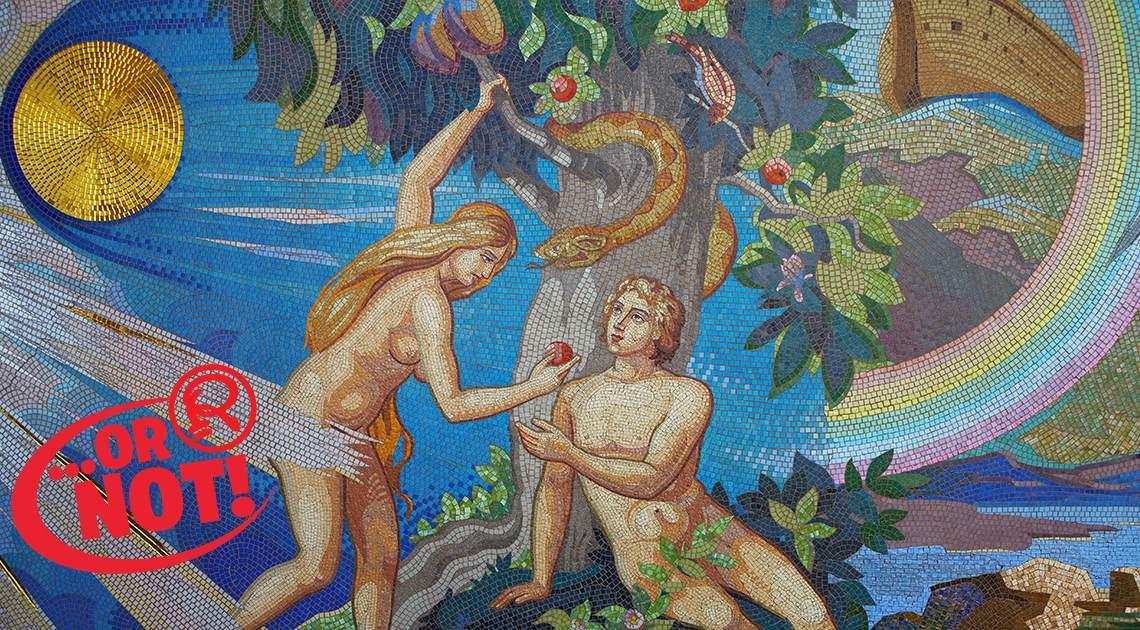 mosaic of garden of eden