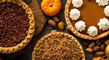 Autumnal pies