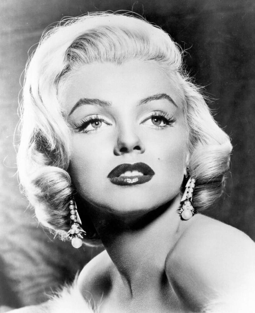 marilyn monroe headshot for clebrity crypts