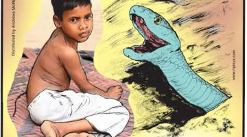 1. Whale milk is up to 50 percent fat - that's as thick as toothpaste! 2. 6-year-old Shivam Kumar of Delhi, India, was born with an unusual growth of hairs that resembles a tail on his back. Neighbors believe he is a reincarnation of the Hindu monkey god, Hanuman. 3. The beaked sea snake is twice as deadly as any land snake!