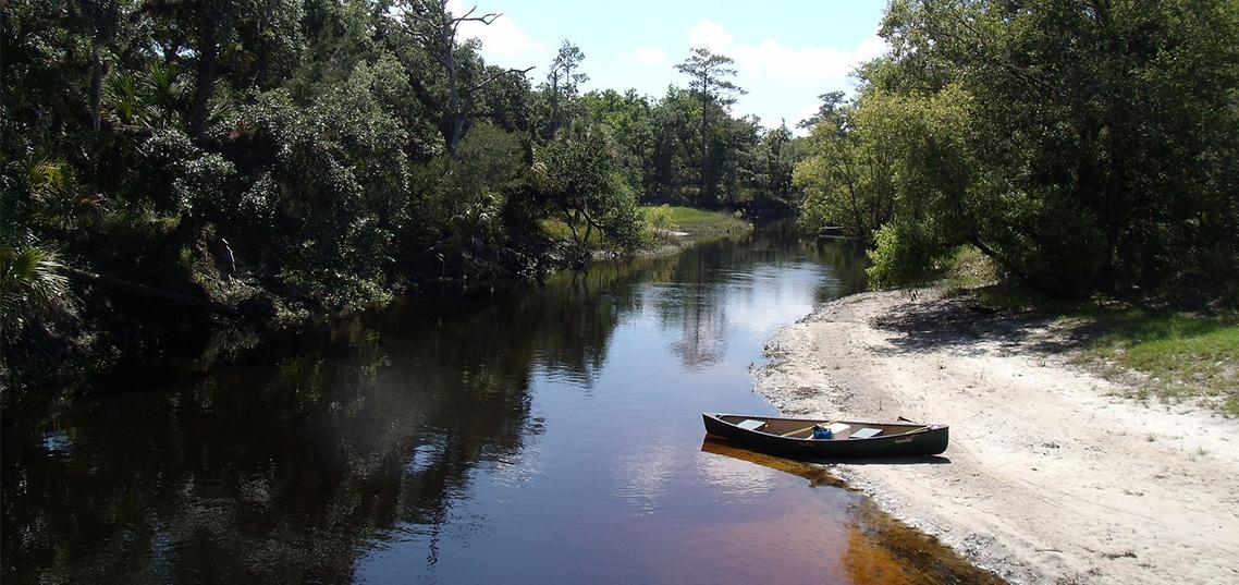 Econlockhatchee River, home of the Oviedo Lights