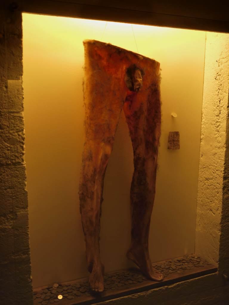 Necropants in Iceland Exhibit